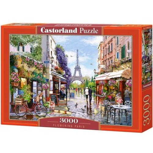 Virágba borult Párizs, Castorland puzzle 3000 db