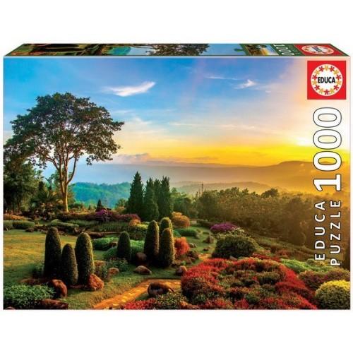 Gyönyörű kert, Educa Puzzle 1000 darabos