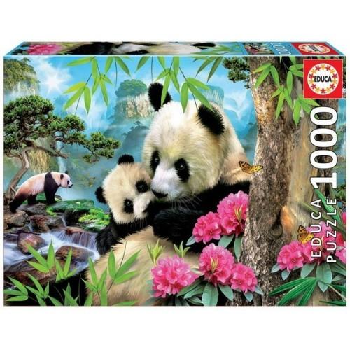 Pandamacik, 1000 darabos Educa puzzle