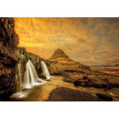 Kirkjufellsfoss Waterfall - Iceland, Educa Puzzle 1000 pcs
