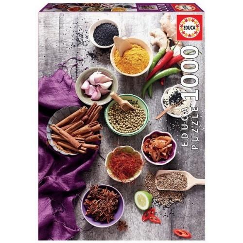 Assorted spices, Educa Puzzle 1000 pc