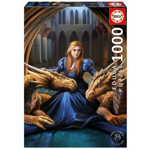 Fierce loyalty, Educa puzzle 1000 pcs