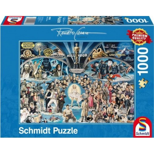Hollywood, 1000 darabos Schmidt puzzle