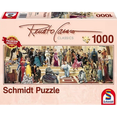 100 years of film - Renato Casaro, Schmidt puzzle, 1000 pcs