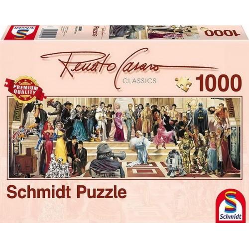 100 years of film - Renato Casaro, Schmidt puzzle, 1000 pcs