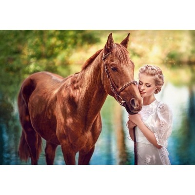 Beauty and Genleness, Castorland Puzzle 1000 pc