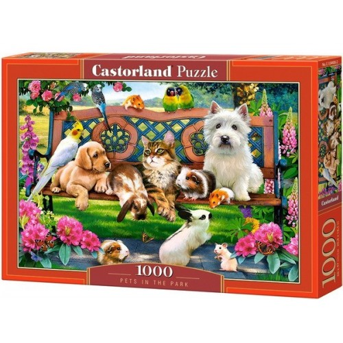 Pets in the Park, Castorland Puzzle 1000 pc