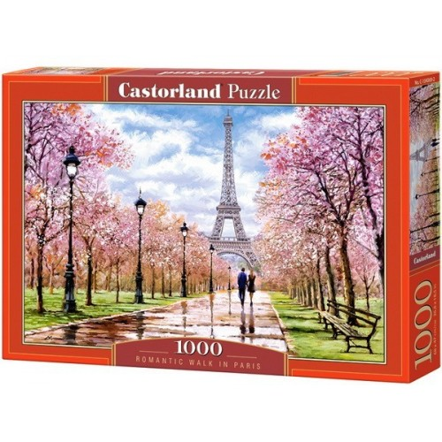 Romantic Walk in Paris, Castorland Puzzle 1000 pc