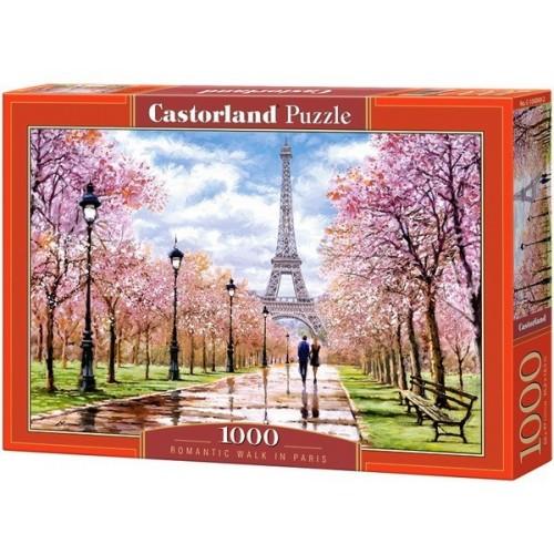 Romantikus séta Párizsban, 1000 darabos Castorland puzzle