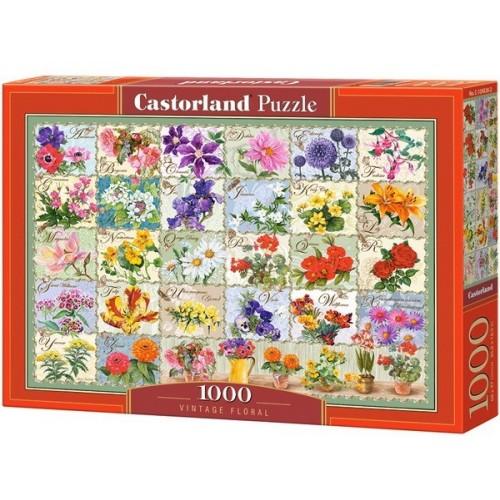 Vintage Floral, Castorland Puzzle 1000 pc