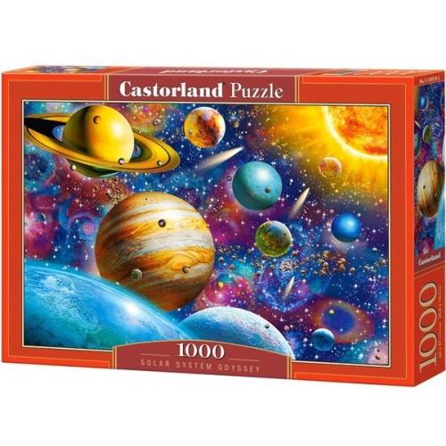Naprendszer, Castorland Puzzle 1000 db