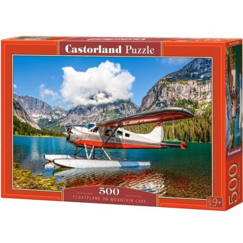 Floatplane on Mountain Lake, Castorland Puzzle 500 pcs