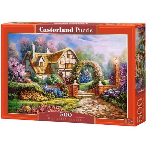 Kertek - Wiltshire - Anglia, 500 darabos Castorland puzzle