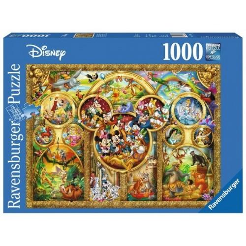 Walt Disney klasszikusok, Ravensburger 1000 darabos kirakó