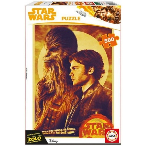 Han Solo - A Star Wars Story, Educa Puzzle 500 pcs