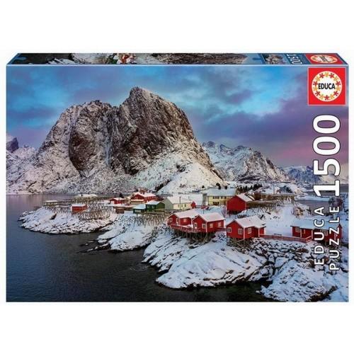 Lofoten Islands - Norway, Educa Puzzle 1500 pieces