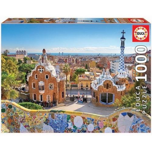 Barcelona View from Park Güell, Educa puzzle 1000 pcs