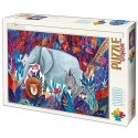 Tropical 4 - Kürti Andrea, D-Toys puzzle 1000 pc