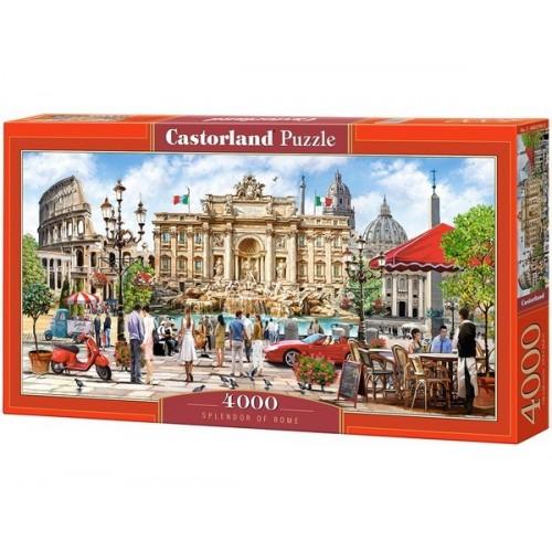 Pompázatos Róma, 4000 darabos Castorland Puzzle