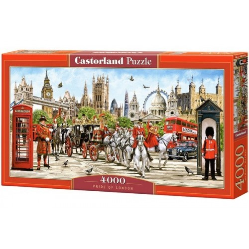 Londoni látványosságok, 4000 darabos Castorland Puzzle