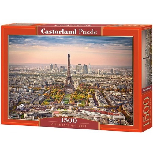 Párizs látképe, 1500 darabos Castorland puzzle