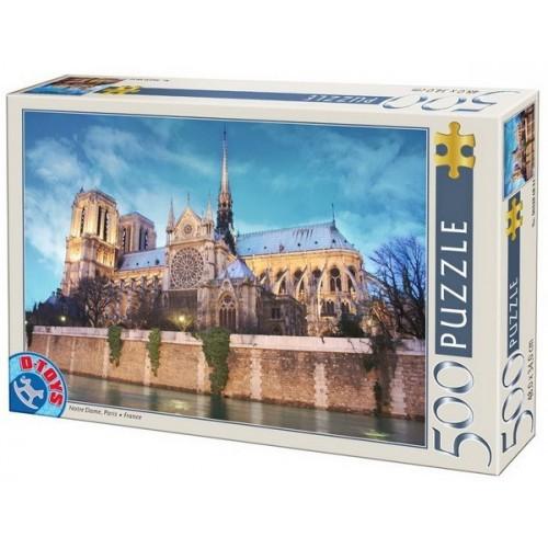 Notre Dame - Paris, D-Toys puzzle 500 pc