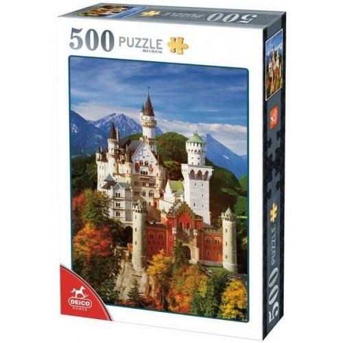 Neuschwanstein - Germany, D-Toys puzzle 500 pc