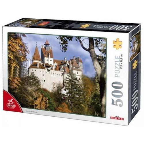 Bran Castle - Romania, D-Toys puzzle 500 pc