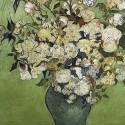 Rózsaszín rózsák vázában - Van Gogh, 1000 darabos D-Toys puzzle