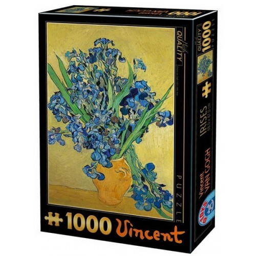 Irises - Van Gogh, D-Toys puzzle 1000 pc