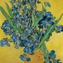 Íriszek vázában - Van Gogh, 1000 darabos D-Toys puzzle