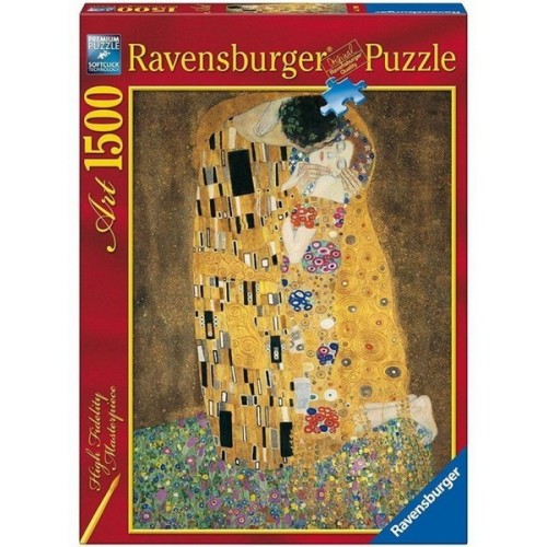 Csók - Gustav Klimt, 1500 darabos Ravensburger puzzle