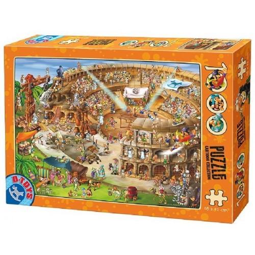 Amfiteátrum, D-Toys puzzle 1000 db