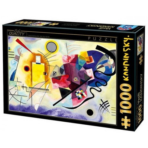 Yellow-Red-Blue - Wassily Kandinsky, D-Toys puzzle 1000 pc