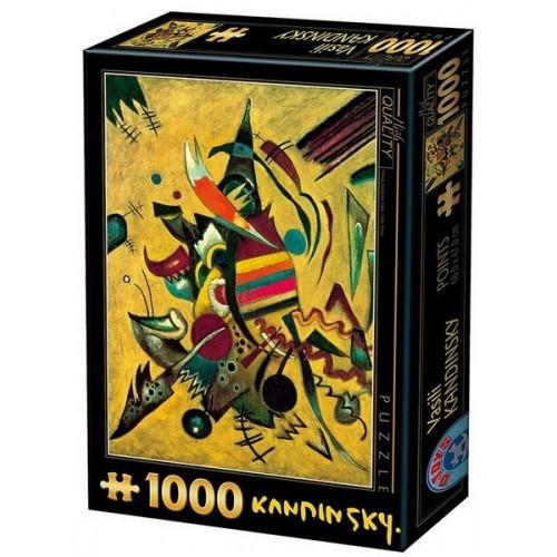 Pontok - Wassily Kandinsky, 1000 darabos D-Toys puzzle