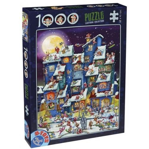 Christmas, D-Toys puzzle 1000 pc