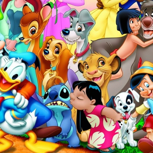 THE WONDERFUL WORLD OF DISNEY, Educa wooden puzzle 100 pc