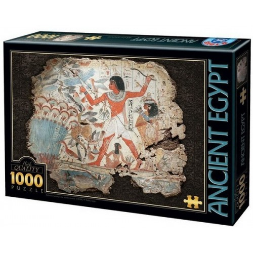 Nebamun hunting in the marshes, D-Toys puzzle 1000 pc