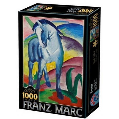 Kék ló - Franz Marc, 1000 darabos D-Toys puzzle