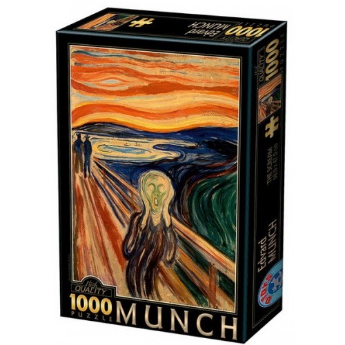 The Scream - Edvard Munch, D-Toys puzzle 1000 pc