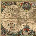 Antique world map, D-Toys puzzle 1000 pc