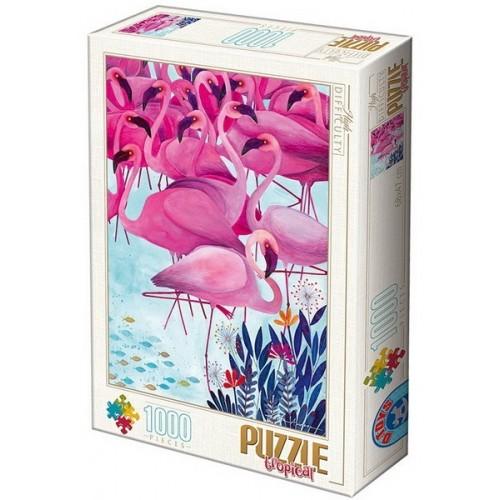 Tropical 2 - Kürti Andrea, 1000 darabos D-Toys puzzle