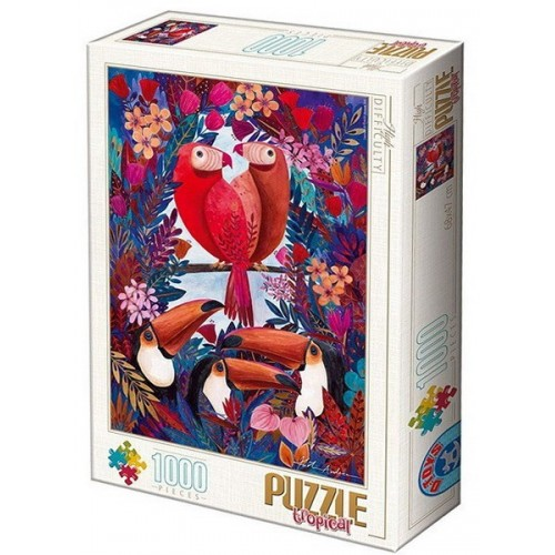 Tropical 1 - Kürti Andrea, D-Toys puzzle 1000 pc
