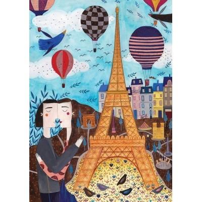 Paris - Kürti Andrea, D-Toys puzzle 1000 pc