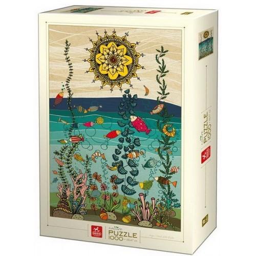 A vízben - Dávid-Kátai Eszter, 1000 darabos Deico puzzle