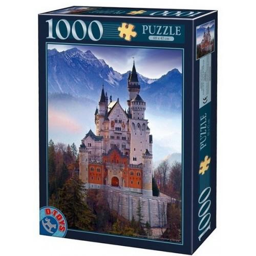 Neuschwansten Castle - Germany, D-Toys puzzle 1000 pc