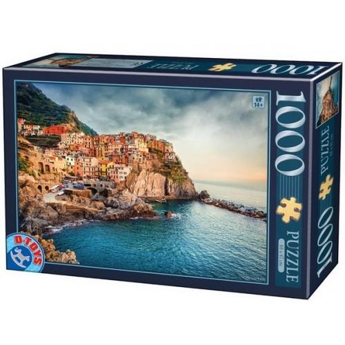 Manarola - Italy, D-Toys puzzle 1000 pc