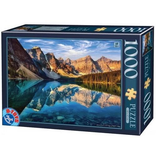Moraine Lake - Banff National Park, D-Toys puzzle 1000 pc