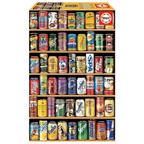 Cans, Educa Mini Puzzle 1000 pc