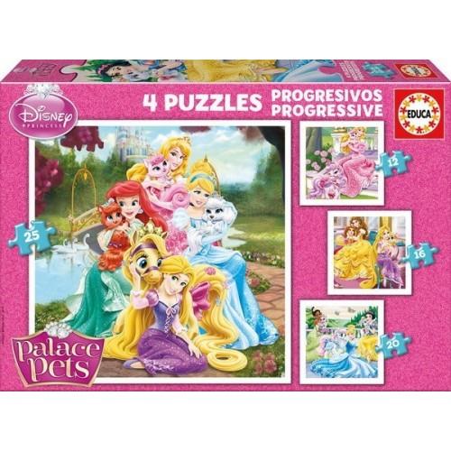 Palace Pets, Educa Progresszív Puzzle 12-25 db